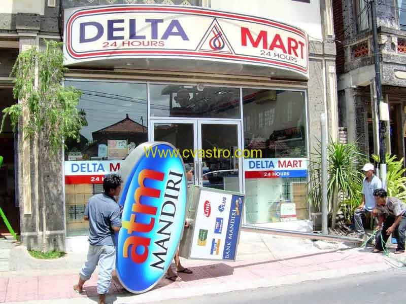 Pemindahan Relokasi Mesin Atm Bank Mandiri Denpasar Bali