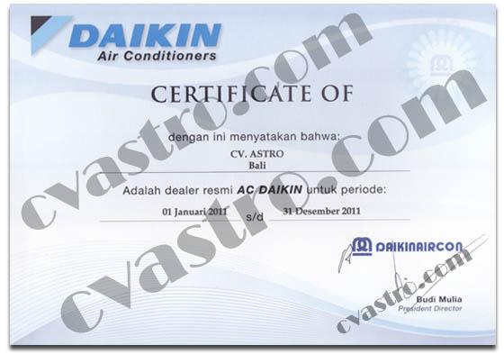 Sub Dealer Resmi AC Daikin