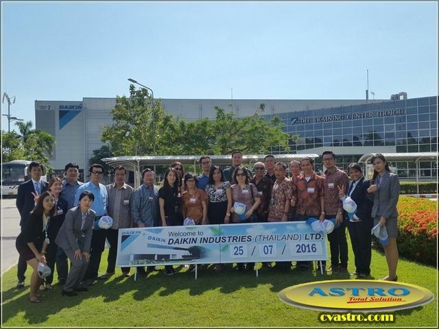 Kunjungan Dealer Daikin Indonesia ke Daikin Industries Thailand