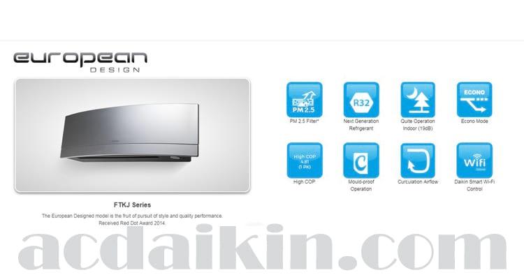 AC Daikin European Design