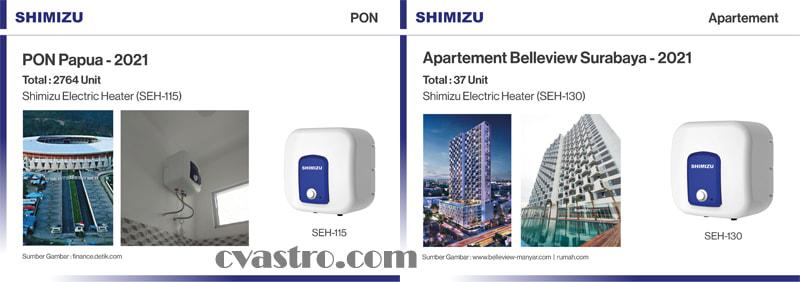 Shimizu Water Heater