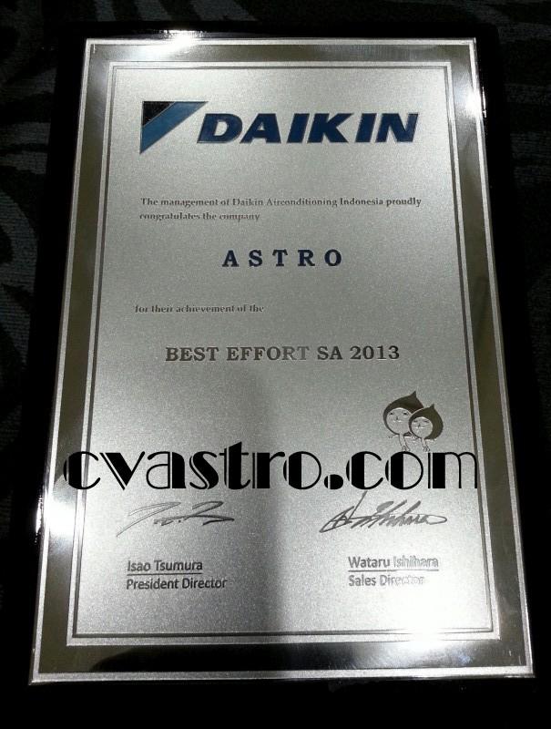 Penghargaan Daikin